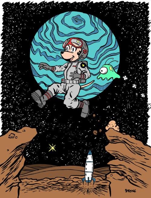 astronautredplanet